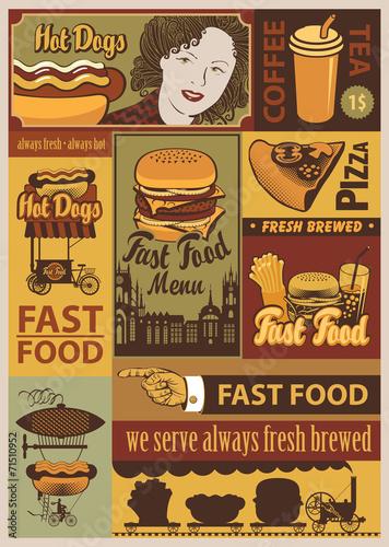banery-na-fast-food-w-stylu-retro