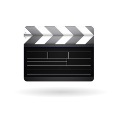 Illustration of clapboard