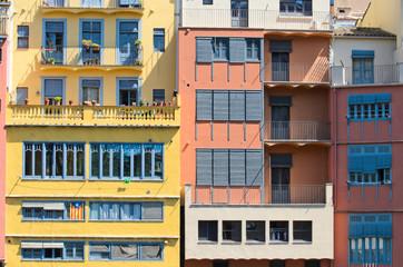 Girona facades