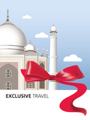 Exclusive, India, Taj Mahal, Landmark, ribbon