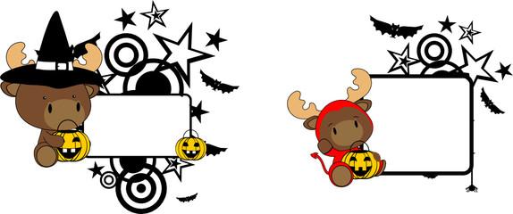 halloween costume reindeer baby cartoon