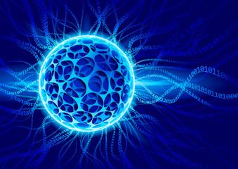 Vector plasma ball