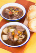 Beef Soup and Toast