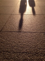 prople shadow