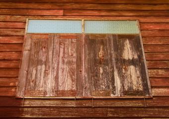 old wooden windows