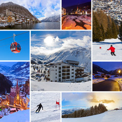 Collage of Austria images