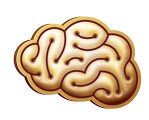 Gold brain
