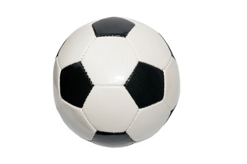 leather soccer ball for sports competition