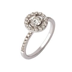 Anello di diamanti