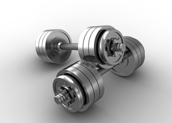 Fitness exercise equipment dumbbell weights, fitness exercise eq