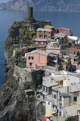 Vernazza, Cinque Terre, Ligurien, Italien