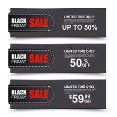 Black Friday collection sale banner