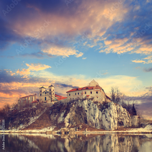 Benedictine monastery in Tyniec near Cracow, Poland - 71523555