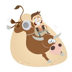 rodeo cowboy lustig