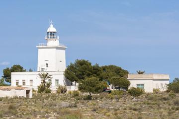 Lighthouse of Santa Pola, Alicante, Spain