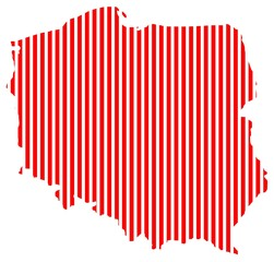 Poland shape red lines