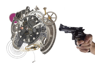 Sparando l'orologio