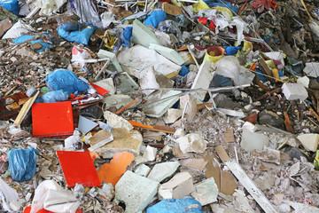 Großer Müllhaufen