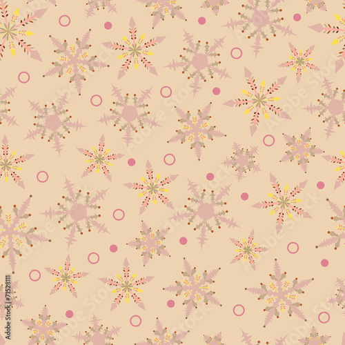 Spoed canvasdoek 2cm dik Kunstmatig christmas design, seamless pattern