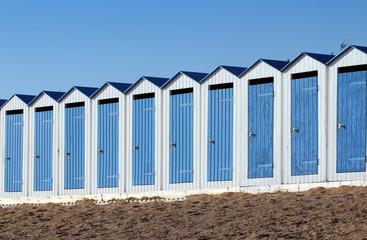 Cabines de plage (Saint-Gilles-Croix-de-Vie)