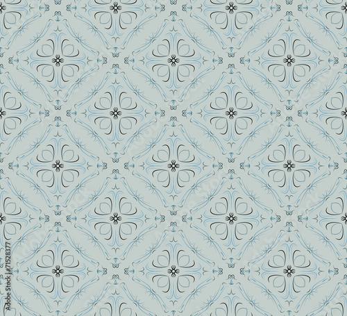 Tuinposter Kunstmatig seamless pattern