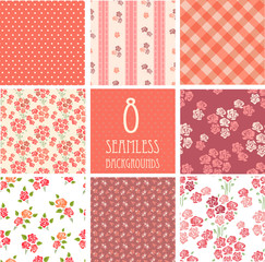 retro backgrounds with roses