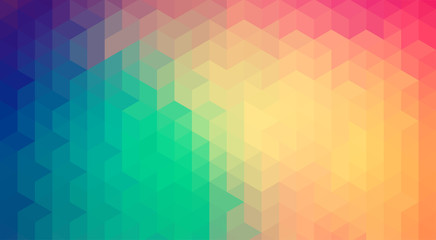 Abstract colorful geometric style background & banner
