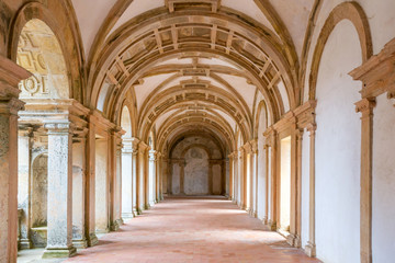 Tomar Corridor Cathedral
