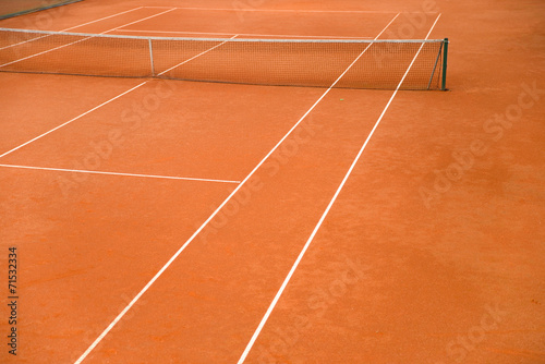 canvas print picture Tennisplatz