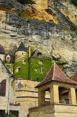 French village La Roque Gageac