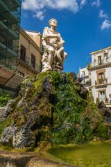 Palermo alter Brunnen Sizilien