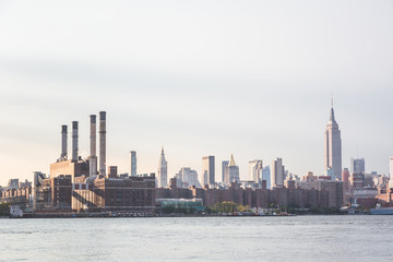 Power Station and Midtown View in New York