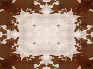 Kaleidoscope Cow Hide Pattern