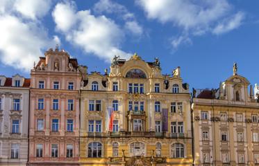 Jugendstil-Architektur in Prag