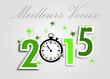 Carte Meilleurs Voeux 2015 vert