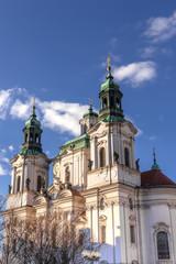 St. Nikolaus-Kirche am Altstädter Ring in Prag