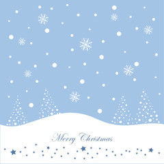 Winter, Weihnachten, Schnee