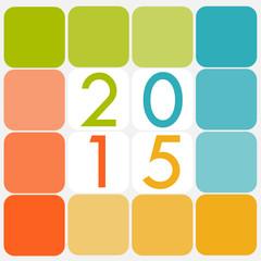 Carte 2015 Pastel
