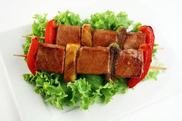 Yakitori pork