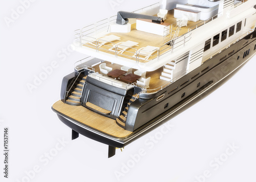 canvas print picture scale model yachts
