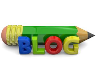 Blog Concept - 3D