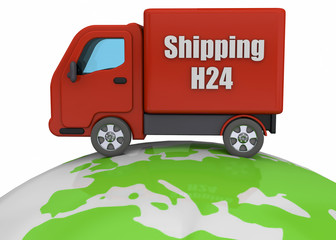 Shipping Concept - 3D