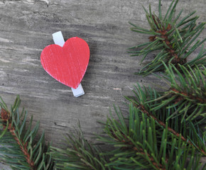 petit cœur rouge