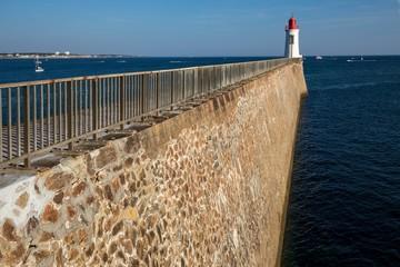 Pier and beacon