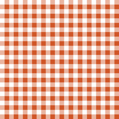Seamless texture of orange plaid