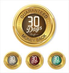 Thirty days money back badge