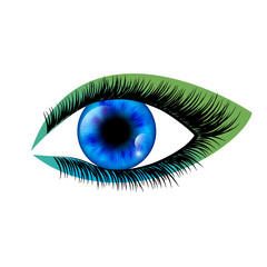 Eye. Vector illustration