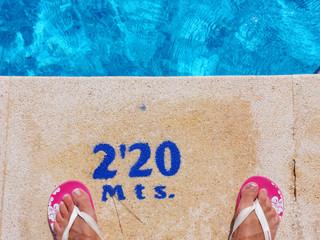 farbenfrohe Erholung im Urlaub