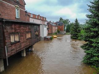 Hochwasser Mulde