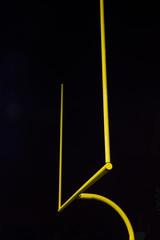 merican Football Field Goal at Night
